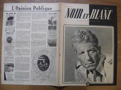 1945 NOIR ET BLANC 40 JEAN GABIN AVION 1000 A L'HEURE Pin Up Publicite - Livres, BD, Revues