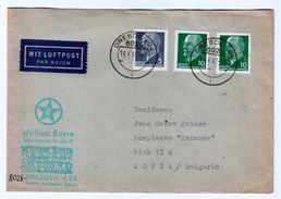 Germany /DDR Traveled To Bulgaria (1967) Printed Matter With Esperanto - Esperanto