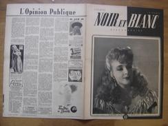 1945 NOIR ET BLANC 38 HOLLYWOOD DANS L'INTIMITE Pin Up Publicite - Livres, BD, Revues