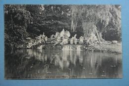 Kampenhout Château De Wilder Chute D'eau Dans L'étang Du Parc - Kampenhout