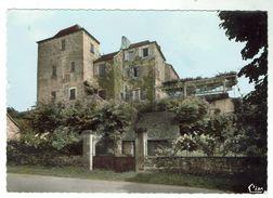MEYRONNE La JOLIE - Le Château Et L'hôtel De La Terrasse - Circulée 1967 -  Bon état - France