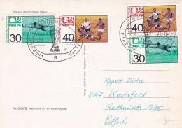 Germany Card 1974 FIFA Soccer World Cup Football - München  (DD4-43) - Coppa Del Mondo