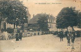 46  SAINT  CERE   -  PLACE  GAMBETTA - Saint-Céré