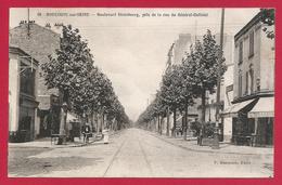 CPA Boulogne Sur Seine - Boulevard De Strasbourg Pris De La Rue Du Général Gallieni - Boulogne Billancourt