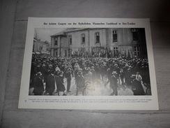 """Origineel Knipsel ( 353 ) Uit Tijdschrift """" Ons Volk Ontwaakt """"  :  Sint - Truiden   St Trond   1927 - Alte Papiere"""