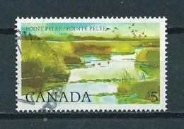 1983 Canada $5 Point Pelee Used/gebruikt/oblitere - 1952-.... Regering Van Elizabeth II