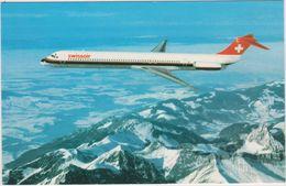 Aviation Swissair  Mc Donnell-douglas Md-81 - 1946-....: Moderne