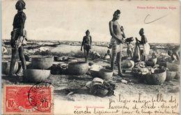 AFRIQUE -- NEGER --  Blanchisseuses - Niger