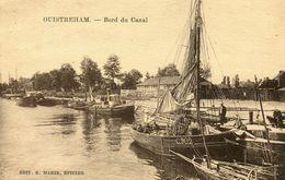 """CPA """"OUISTREHAM""""Le Bord Du Canal - Ouistreham"""