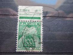VEND BEAU TIMBRE TAXE DE FRANCE N° 89 + BDF !!! - 1859-1955 Oblitérés