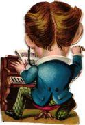 9 Trade Cards Music  PIANO  C1890  Au Ouistiti Paris   Cours De Piano & Solfège Paris  Organ   Lithography - Other