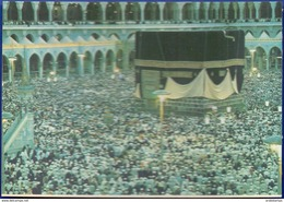 Ihram The Kaaba At The Time Of Hajj Very Rare - Saudi Arabia
