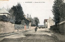 KERHUON ** LE RELECQ KERHUON ** ENV DE BREST ** AVENUE DE LA GARE ** COLORISEE ** - France