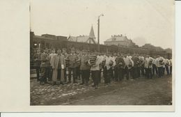 AK Brotempfang Auf Bahnhof - Guerra 1914-18
