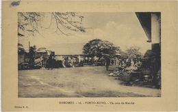 DAHOMEY -16 - PORTO NOVO - Un Coin Du Marché - Ed. E. R . - Dahomey