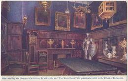 Wren Room, Liverpool Exhibition Philip & Macconnal Advert Postcard B754 - Expositions