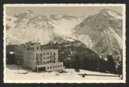 AROSA GR Restaurant Hotel PRÄTSCHLI Berghotel Ca. 1940 - GR Grisons