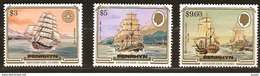 Penrhyn 1984 Yvertnr. 290-292   *** MNH Cote 45 Euro Bateaux Ships Boten - Penrhyn