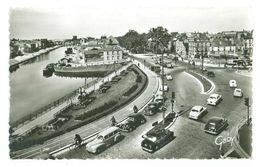35 -- RENNES -- Place De La Mission - Le Grand Mail Et Vilaine (automobiles) - Rennes