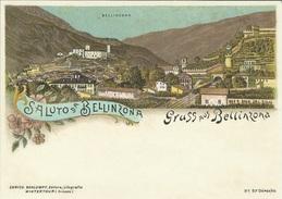 Entier Postal 2008 * Gruss Aus Bellinzona * Oblitéré 1er Jour - Interi Postali