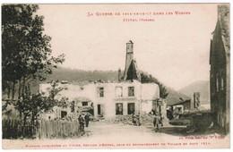 CPA La Guerre 1914-18 Dans Les Vosges, Etival (pk35474) - Etival Clairefontaine