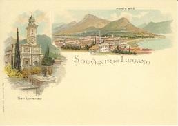 Entier Postal 2014 * Souvenir De Lugano * Neuf - Interi Postali