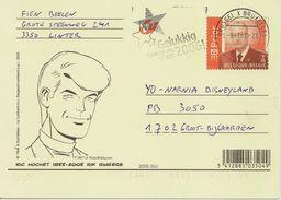 Entier Postal Belge Ric Hochet - Fumetti