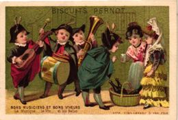 12 Trade Cards   Music  Instruments  C1880  Pub Choc.Guérin Boutron Biscuit Pernot  Antropomorph Lithography - Sonstige