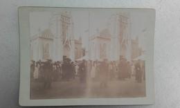 44 - LE POULIGUEN - Photo Stéréo Sur Carton - 1902 - Stereoscopic