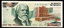 Messico-002 - 2.000 Pesos - - Messico