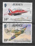 Jersey N° 518/19 YVERT OBLITERE - Jersey