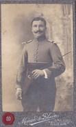 CDV Militaire 5 Eme Regiment Infanterie Baton Stick De Commandement Menard De Blain Alger - Guerre, Militaire