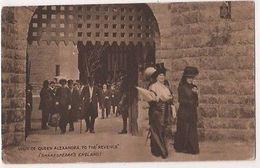 Earls Court, Visit Queen Alexandra To Revenge Shakespeares England Postcard B740 - Expositions