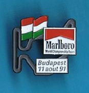 PIN´S //  ** CIRCUIT ** F1 ** BUDAPEST ** 11 AOUT 91 ** MARLBORO ** - Car Racing - F1
