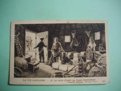 HISTOIRE  -  LA VIE GAULOISE  -  Le Droit D'Asile Au Foyer Domestique   -  19  -    Fernand Nathan éditeur - Histoire
