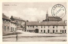 Jamioulx : La Place 1953 - Ham-sur-Heure-Nalinnes