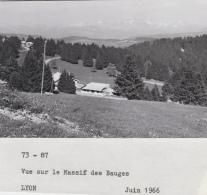 Agriculture -  Village - Massif Des Bauges  - Savoie - Photographie - 1966 - Cultures