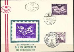 Österreich  -  FDC   1962    Mi Nr.  1127   Tag Der Briefmarke. - FDC