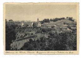 SIENA ABBAZIA DI MONTE OLIVETO MAGGIORE - VEDUTA DA SUD  VIAGGIATA FG - Siena