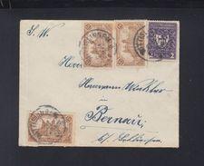 Dt. Reich Brief 1922 Nach Bernau - Briefe U. Dokumente