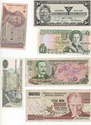 Lot 12 Billets Pèle Mêle - Alla Rinfusa - Banconote