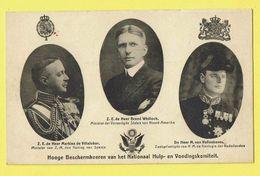 * Royalty - Royal * (Nels) Markies De Villalobar, Brand Whitlock, M. Van Vollenhoven, Nationaal Hulp En Voedingskomiteit - Familles Royales
