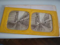 FOTOGRAFIA RAFFIGURANTE UNA VIA DI NAPOLI - Stereoscopi