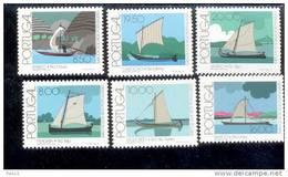 1516 - 1521 Fluß -  Boote MNH ** Postfrisch - 1910-... República