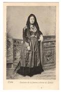 GRECE - CRETE Costume De La Femme Crétoise Du Sfakia, Pionnière - Grecia