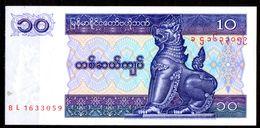 Myanmar-005 - (Immagine Campione) 10 Kyats - Disponibili 2 Lotti. - Myanmar