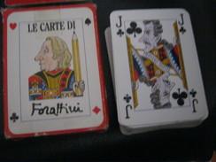 CARTE DA GIOCO MODIANO ILLUSTRATE DA FORATTINI - Carte Da Gioco