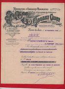 Jura - Morez Du Jura - L.D.Odobey Cadet - Manufacture D'horlogerie - Horloger - 1926 - France
