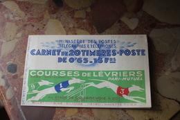 N0 365 -C4 Série 46  Carnet De 20 Timbres (courses De Lévriers) Superbe - Algérie (1962-...)