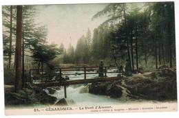 CPA Gerardmer Le Pont D'Amour (pk35495) - Gerardmer